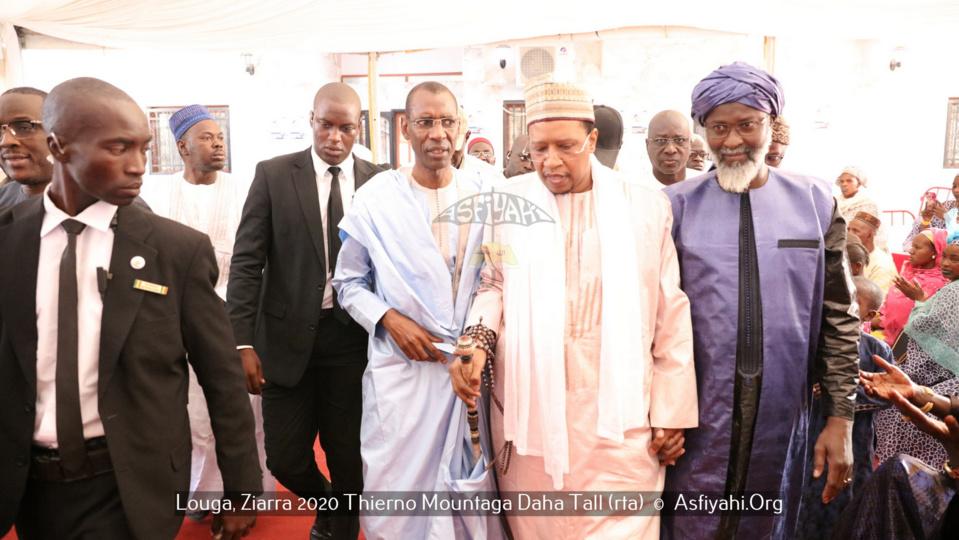 PHOTOS - LOUGA - Les Images de la Ziarra 2020 Thierno Mountaga Daha Tall (rta) co-présidée par Thierno Bachir Tall et Serigne Babacar Sy Mansour