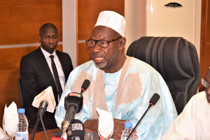 PHOTOS -  CRD PRÉPARATOIRE DE LA ZIARRA OMARIENNE 2020 DE DAKAR: Les assurances du Ministre de L'intérieur Aly Ngouille Ndiaye