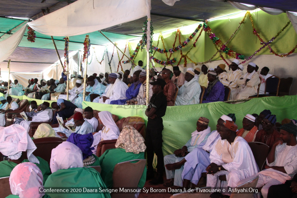 PHOTOS - TIVAOUANE - Les images de la Conférence du Daara Serigne Mansour SY de Tivaouane dirigé par Serigne Maodo Sow