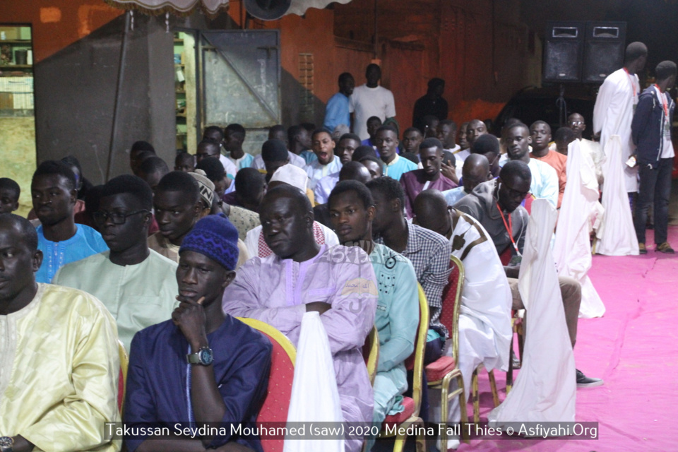 PHOTOS - THIES MEDINA FALL - Les images du Takussan Seydina Mouhamed (saw) organisé par Pape Moussa Mbaye