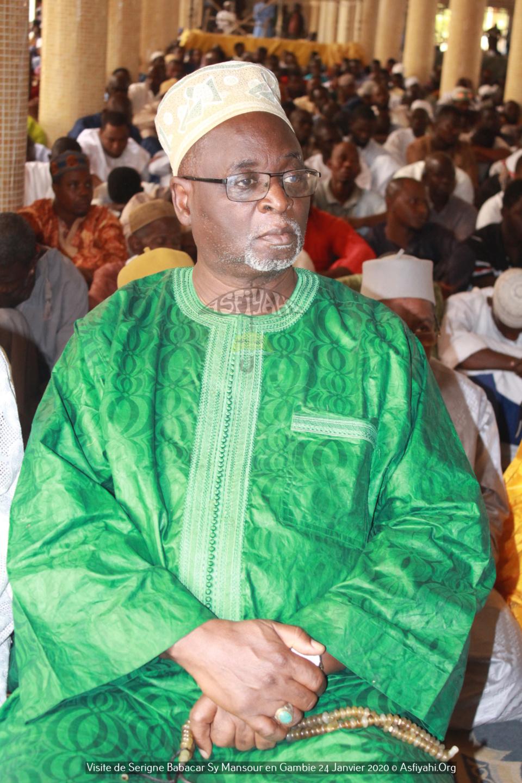 PHOTOS - GAMBIE - Serigne Babacar Sy Mansour assiste à la Prière de ce Vendredi 24 janvier et reçoit une délégation du parlement  de la CEDEAO