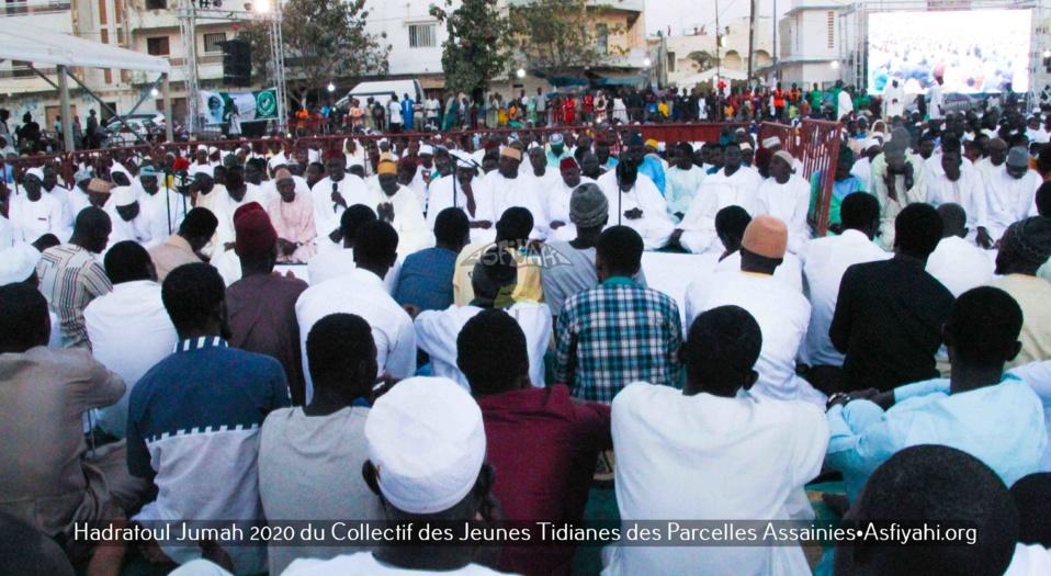 PHOTOS - PARCELLES ASSAINIES - Les Images de la Hadratoul Djumah du Collectif des jeunes Tidianes des parcelles Assainies et environs de ce 24 Janvier 2020