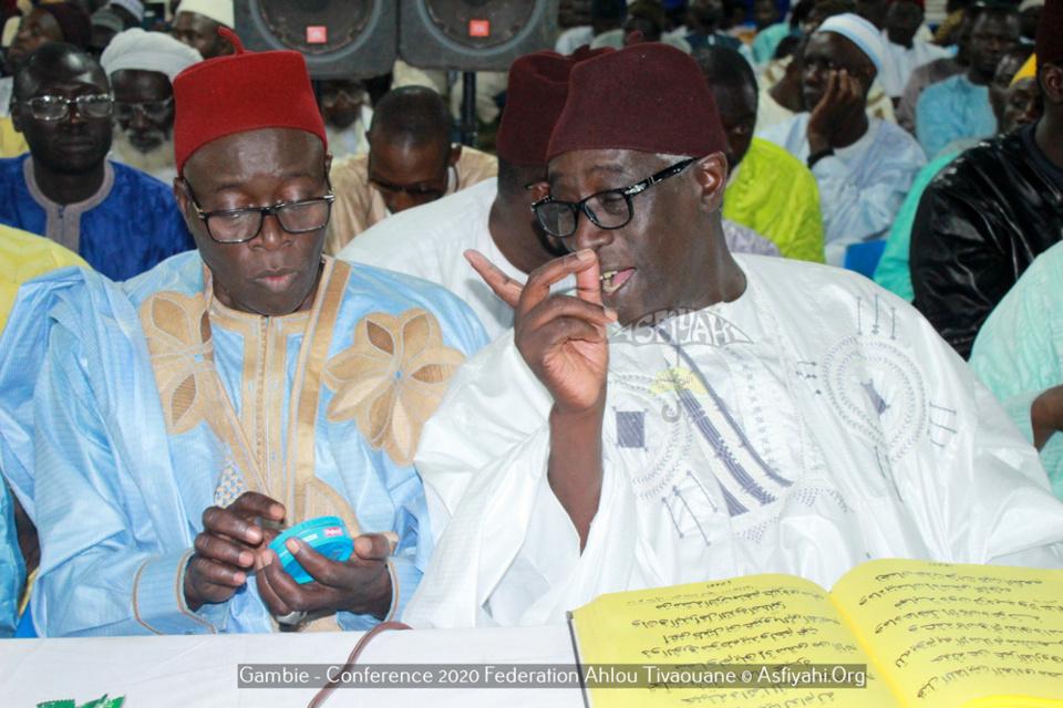 PHOTOS - GAMBIE - Les Images de la Conférence de la fédération Ahlou Tivaouane de Banjul, présidée par Serigne Babacar Sy Mansour