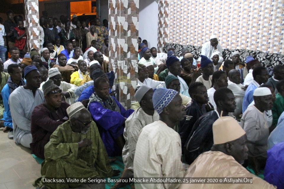 PHOTOS - DIACKSAO - Les Images de la Visite de Serigne Bassirou Mbacke AbdouHadre, en prelude au Gamou de Diacksao 2020