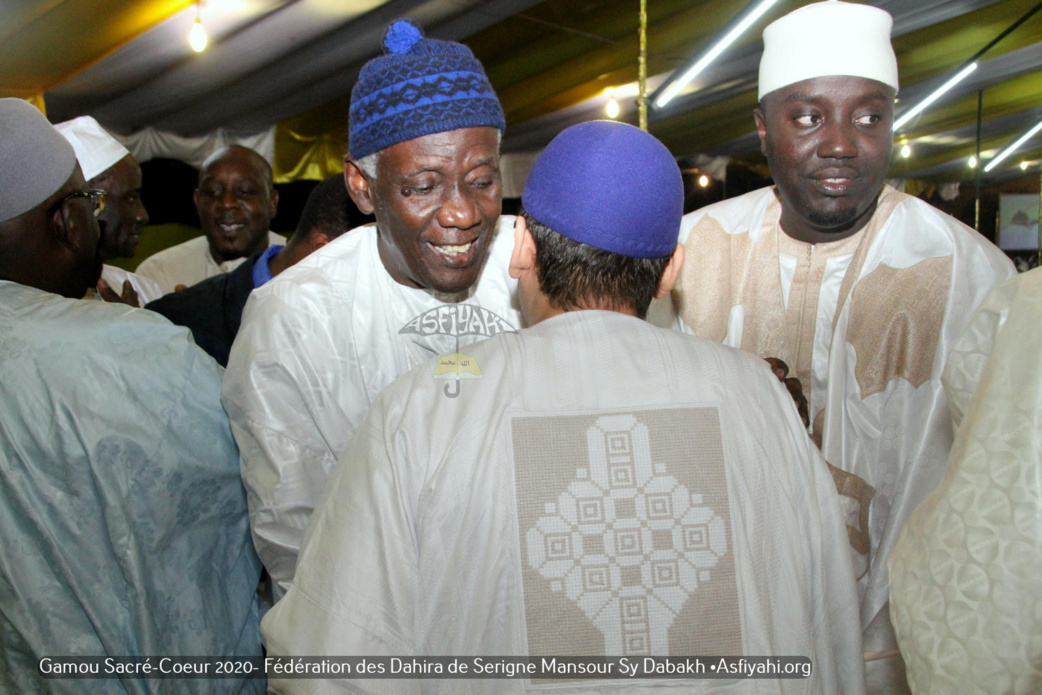 PHOTOS - ALBUM 1 - SACRE-COEUR 3 - Les temps-forts du Gamou de la Fédération des Dahiras de Serigne Mansour Sy Dabakh