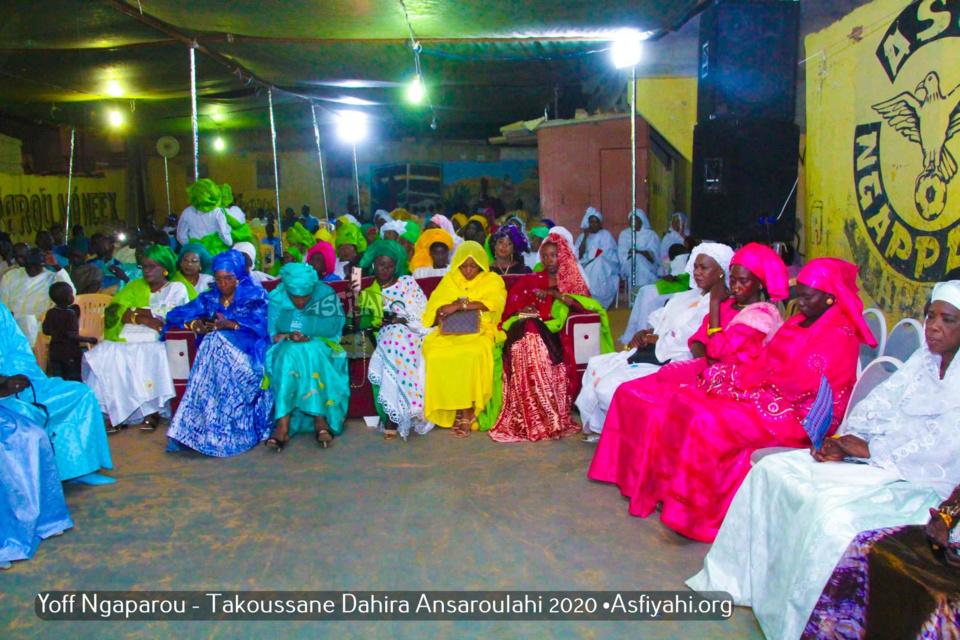 PHOTOS - YOFF NGAPAROU - Les images du Takoussan du Dahiratou Ansaroulahi, édition 2020