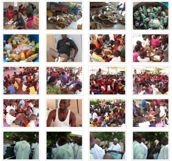 PHOTOS - Action humanitaire : Serigne Mansour Sy Djamil organise une colonie de vacances en faveur des enfants victimes d'inondations