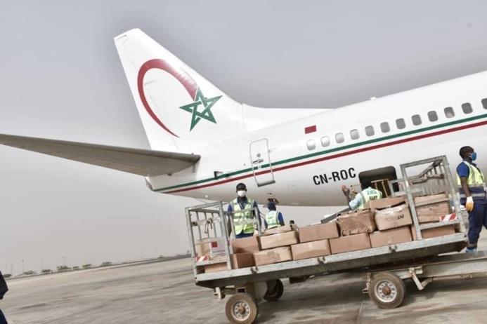 PHOTOS ET VIDEO - La Fondation Mohamed 6 des Oulémas Africains magnifie le Don du Royaume du Maroc à la République Sénégal dans le cadre de sa riposte contre le nouveau coronavirus