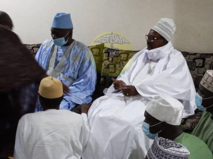 PHOTOS - Présentation de Condoléances de Serigne Bass AbdouHadre au nom du Khalif General des Mourides