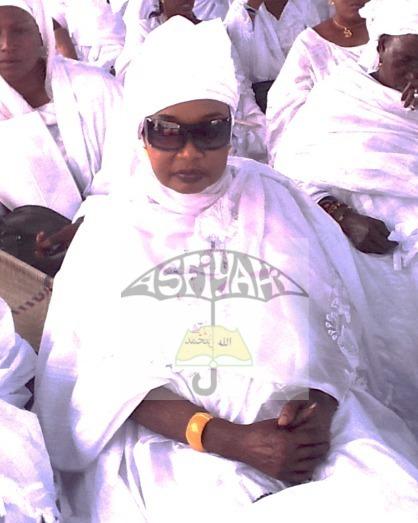 Sokhna Assy Mansour , Presidente de la Fondation Mame Fawade Wéllé