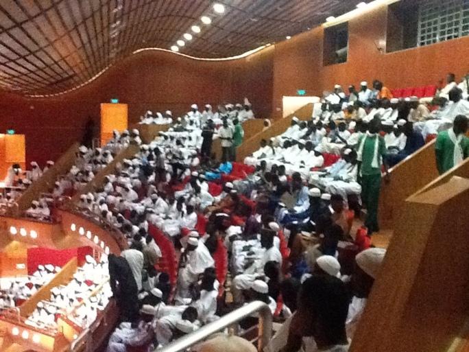 """PHOTOS : La Fondation Mame Fawade Wéllé """"Spiritualise"""" le Grand Théâtre de Dakar"""