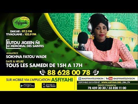 EUTOU JIGGEN GNI DU SAMEDI 04 JUILLET 2020 PAR SOKHNA FATOU WADE THEME: LE VOILE DE LA FEMME