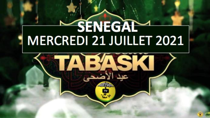 SENEGAL - La Tabaski sera célébrée le Mercredi 21 Juillet 2021 (COMMISSION)