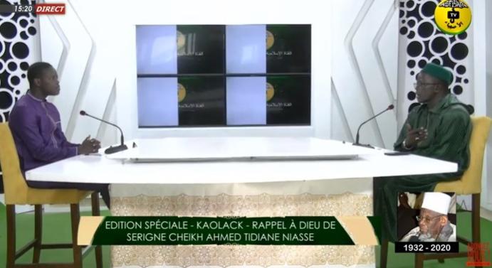 EDITION SPÉCIALE - KAOLACK - RAPPEL À DIEU DE SERIGNE CHEIKH AHMED TIDIANE NIASSE