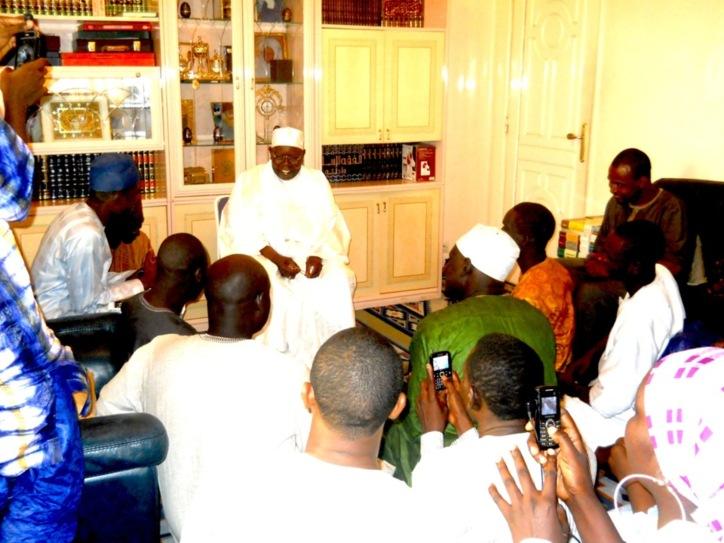 """PHOTOS & VIDEO : Serigne Abdoul Aziz Sy reçoit les Jeunes Tidianes de Dakar Plateau : """"Al Amine appelle à l'unité, la concorde, la solidarité et la symbiose entre les musulmans"""""""
