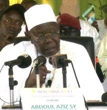 VIDEO ACHOURA 2012 : Le Cours Magistral de Serigne Abdoul Aziz Sy Al Amine aux Jeunes Tidianes