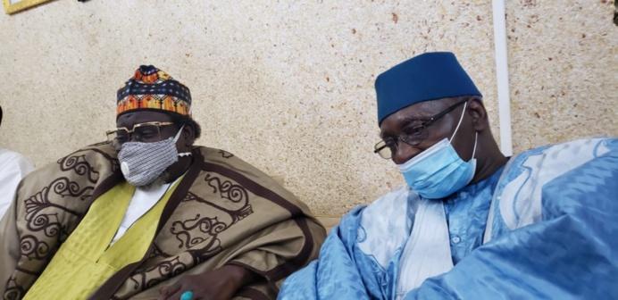 Condoléances: Serigne Babacar Sy Mansour à Médina Baye et Leona Niassene