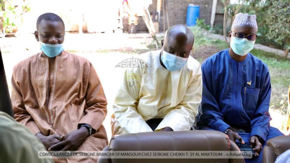 PHOTOS - FANN RESIDENCE - Serigne Babacar Sy Mansour chez Serigne Cheikh Tidiane Sy Al Maktoum