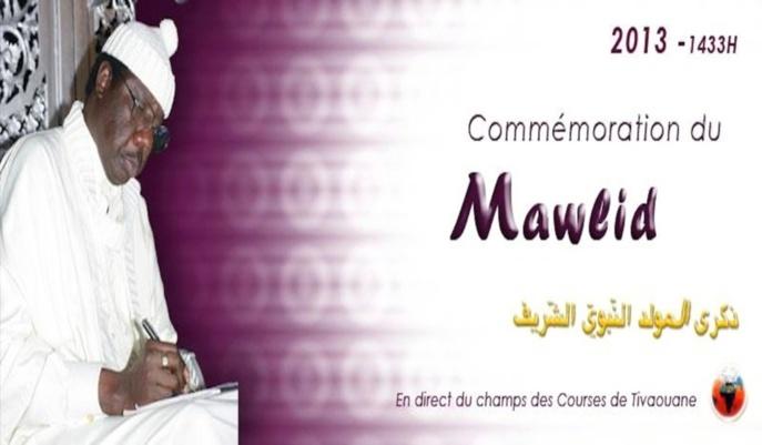 Voici le Programme du Symposium et Mawlid 2013 du Dahiratoul Moustarchidina Wal Moustarchidaty