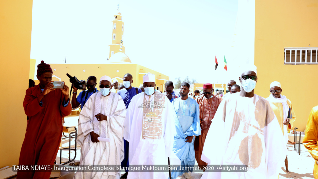 REPORTAGE PHOTOS ET VIDEO  - TAIBA NDIAYE - Les Images de l'inauguration du Complexe Islamique Maktoum Ben Jumma, initié par les Etablissements Serigne Mansour Sy Borom Daara Yi en partenariat avec l'ONG Al Wassat