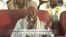 VIDEO - CEREMONIE OFFICIELLE - L'intégralité du Message de Serigne Abdoul Aziz Sy Al Amine