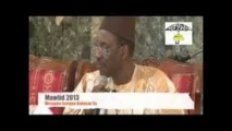 VIDEO MAWLID 2013 - MOSQUEE SERIGNE BABACAR SY -  Serigne Maodo SY Dabakh (2EME PARTIE)