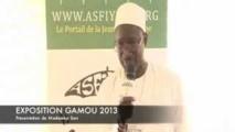 VIDEO - Exposition Gamou 2013 : Presentation de Mademba Sarr