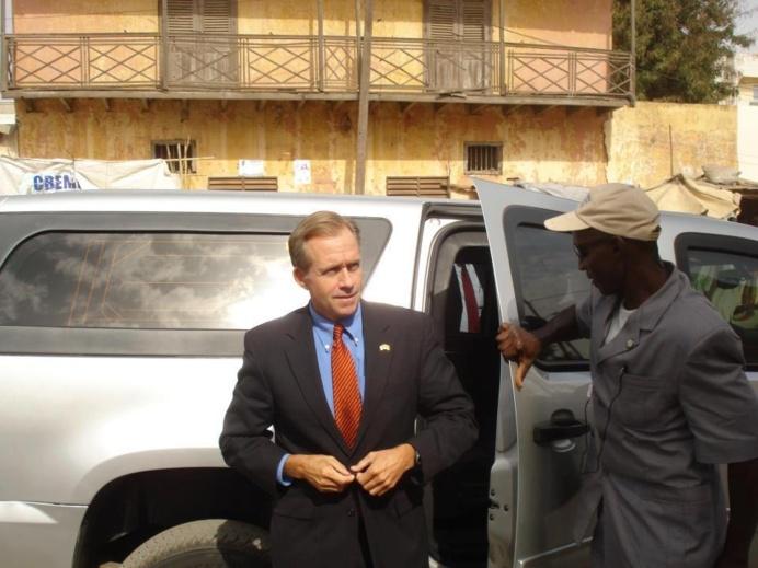 PHOTOS : Les Images de la Visite de l'Ambassadeur des Etats-Unies , Lewis Lukens à Tivaouane