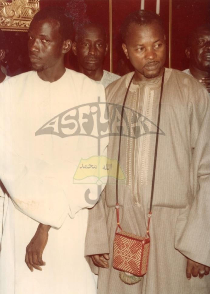 Serigne Moustapha Saliou Mbacké et Serigne Makhtar Mbacké