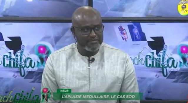 Ach Chifa du Dimanche 3 Janvier 2021 Thème: l'Aplasie Médullaire - Le Cas SOD