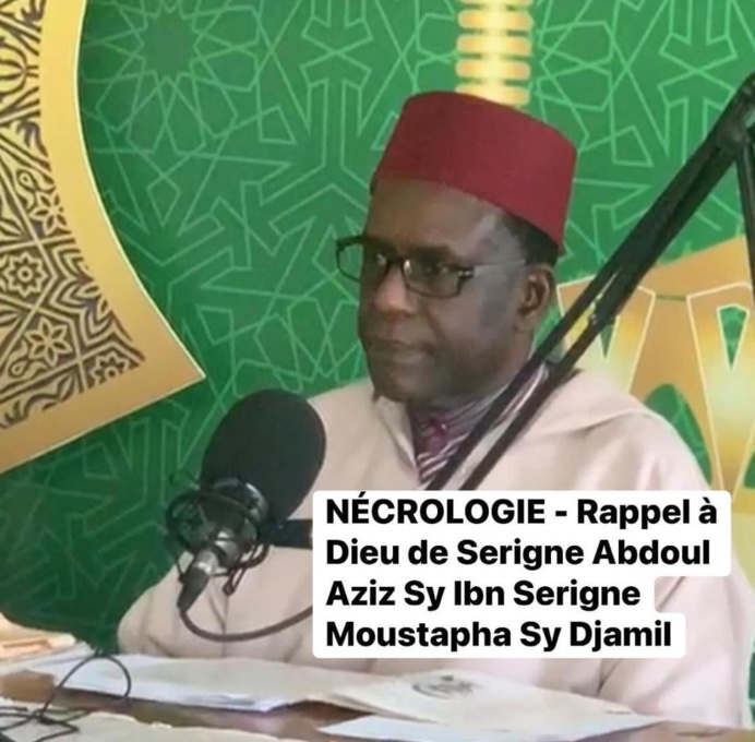 Abdoul Aziz Sy Diamil adepte du zikr n'est plus (par Magib Sène)
