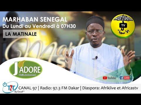 MARHABAN SENEGAL DU 25 FEV 2021 QASIDA DE LA SEMAINE INVITE: SEYDI DJAMIL NIANE CHERCHEUR A L'IFAN