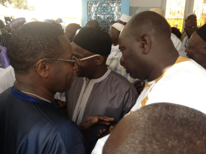 Les Images de la Levee du Corps de Abdoul Aziz Ndiaye Bouna Alboury