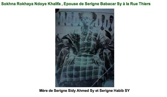 AUDIO - MISE AU POINT DE SERIGNE SIDY AHMED SY IBN SERIGNE BABACAR SY (RTA) CONCERNANT UN USURPATEUR D'IDENTITE