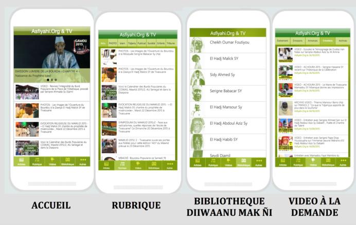 NOUVEAUTÉ : Asfiyahi.Org lance son Application Asfiyahi Mobile !