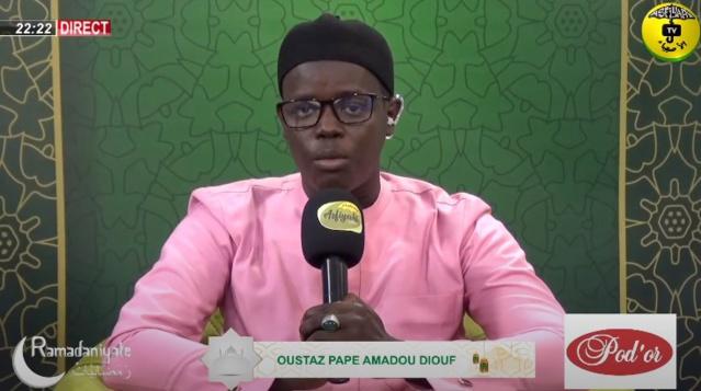 RAMADANIYATE DU 16 AVRIL 2021 - SPECIAL ABOUBAKR AS-SADIQ - Invité Cheikh Tidiane Ndao
