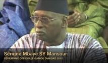VIDEO - DIACKSAO 2012 : Allocution de Serigne Mbaye Sy Mansour