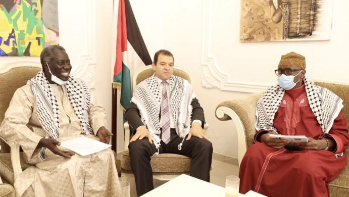 VIDEO PHOTOS - SOUTIEN DE TIVAOUANE À LA PALESTINE: Le Film de la reception de la Delegation du Khalif Serigne babacar Sy Mansour par son excellence Safwat Ibraghith