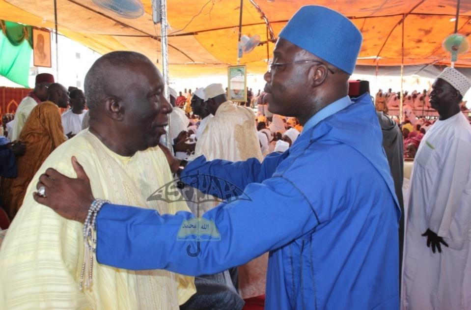Mounirou Sy DG BSDA & El Hadj Mansour Mbaye