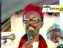 ARCHIVE VIDEO - 1986 : Conference de Serigne Cheikh Tidiane SY AL Maktoum à Keur Dieumb