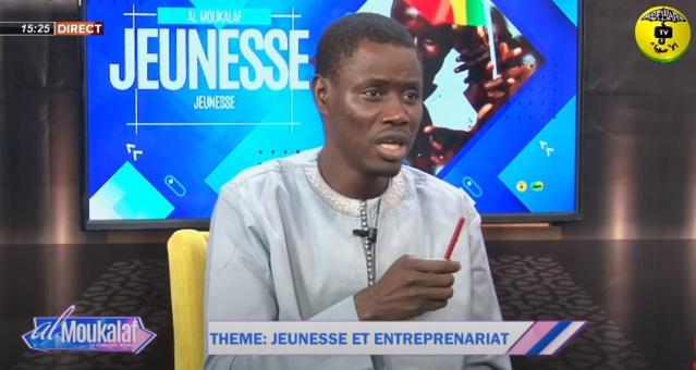 AL MUKALAF DU 20 JUIN 2021 - JEUNESSE ET ENTREPENARIAT - invites Moustapha Ndiaye et Mariama Ndiaye