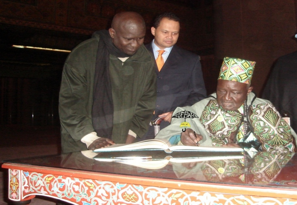 PHOTOS - Serigne Mansour Sy Borom Daara Yi en visite à la Mosquée Hassan 2 au Maroc