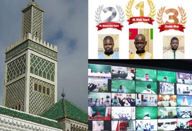 Journée du Saint-Coran et Remise des prix aux lauréats du concours international du saint Coran organisé par la fondation Mohammed VI, ce dimanche 27 Juin 2021 à la grande mosquée de Dakar