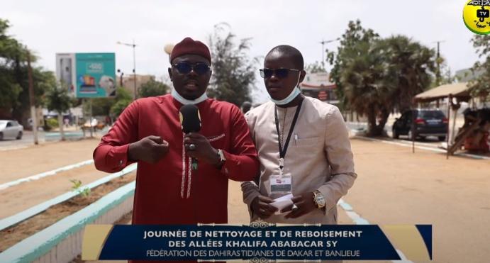 REPORTAGE - ALLÉES KHALIFA ABABACAR: La Jeunesse Tidiane répond à l'appel de Serigne Pape Malick Sy