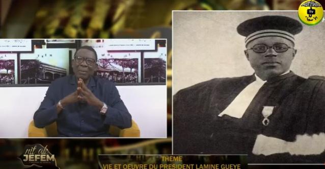 NIT AK JËFËM du 08 Sept. 2021 par El Hadji Atoumane Ndiaye Théme: vie et oeuvre du Pdt Lamine Gueye