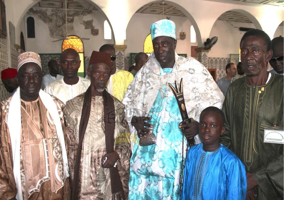 Imam Ousmane Diop en compagnie de Pape Diagne Bassirou
