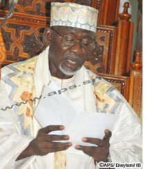 TABASKI 2013 - L'imam Pape Alioune Samb prie pour la concorde nationale