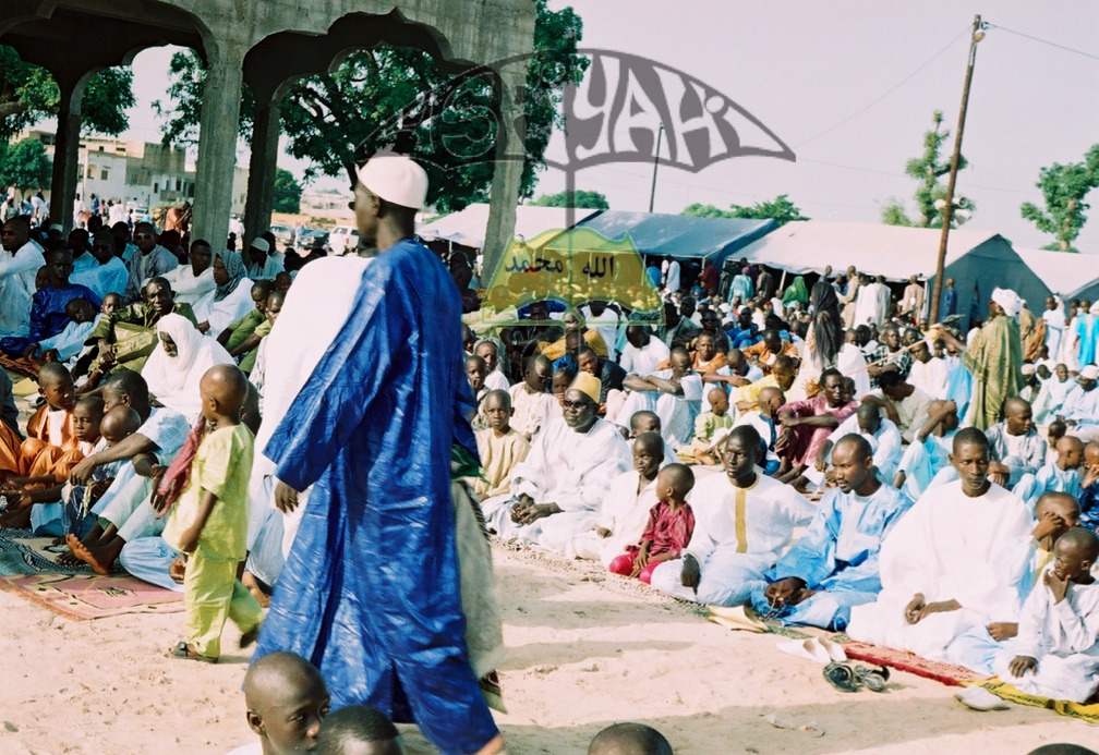 PHOTOS - TIVAOUANE TABASKI 2013 : Les Images de la Prière dirigée par Serigne Mbaye SY Mansour