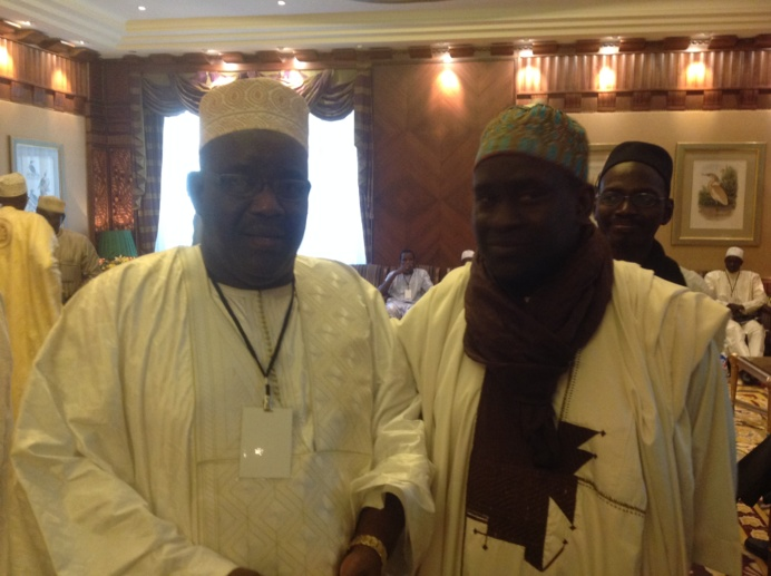 Serigne Ahmada Sy Djamil et Serigne Cheikh Oumar SY