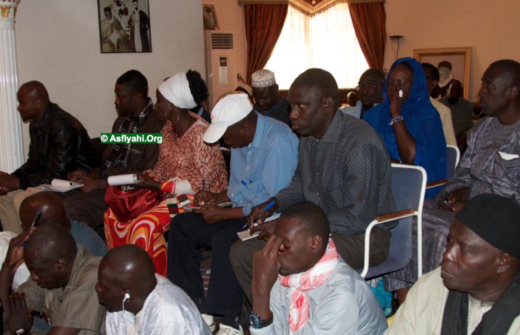 PHOTOS - GAMOU TIVAOUANE 2014 - Les Images de la Conference de Presse de Serigne Abdoul Aziz Sy Al Amine à Tivaouane